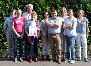Diploma-uitreiking eerste groep mentorcoaches van Nederland op 05-06-2013 Utrecht